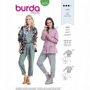 6379 Burda Pattern: Misses' Jacket